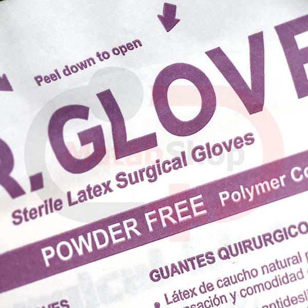 دستکش جراحی بدون پودر